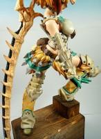 ベリオロス装備 剣士・女(横)